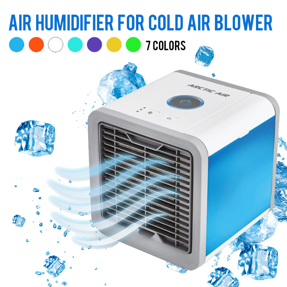 Mini USB Cooler Household Dormitory Desktop Small Air Conditioning Fan Student Portable Humidifier Gas Water Cooling Fan