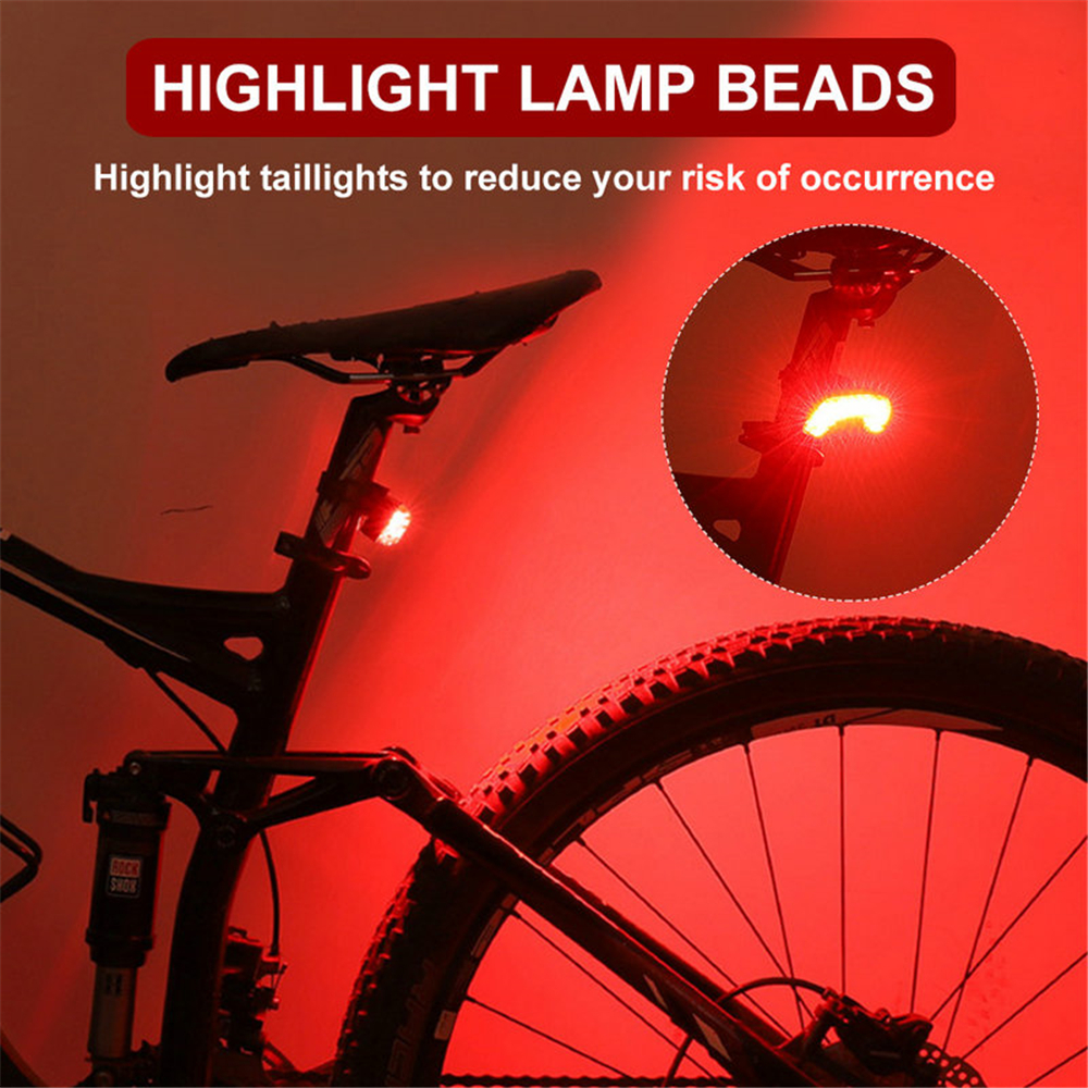 XLX Multifunctional 7 LED Bicycle Turning Light Bike Tail Lamp Electric Horn for