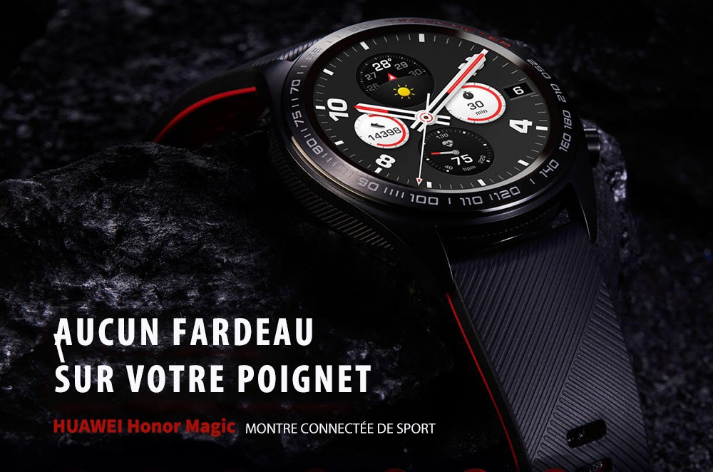 HUAWEI HONOR Watch Magic Montre Connectée - Noir