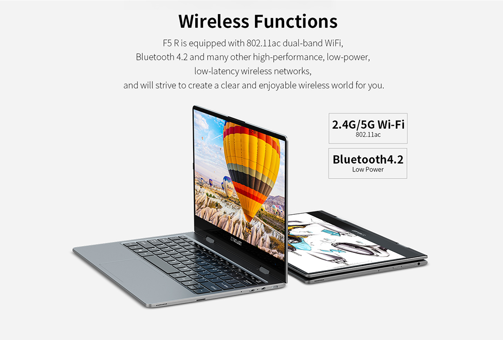 Teclast F5R Laptop 360° Rotating Touch Screen