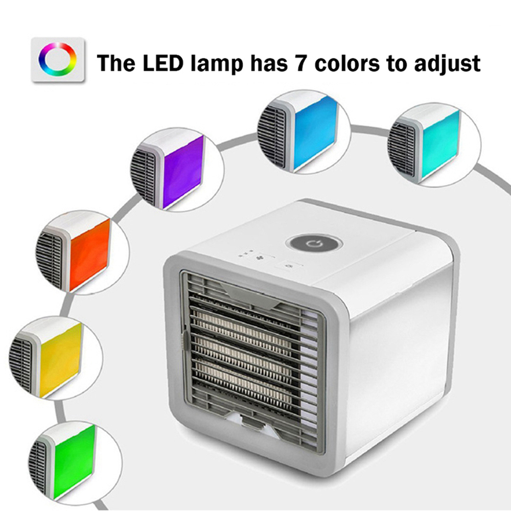 Mini Durable Portable Air Conditioning Cooling Fan Air Cooler- Platinum