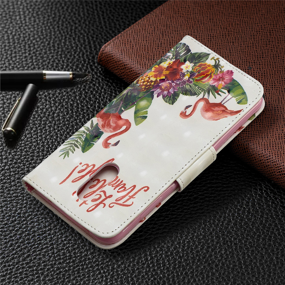 3D Painted Full Protection Phone Case for Nokia 3.2- Multi-B