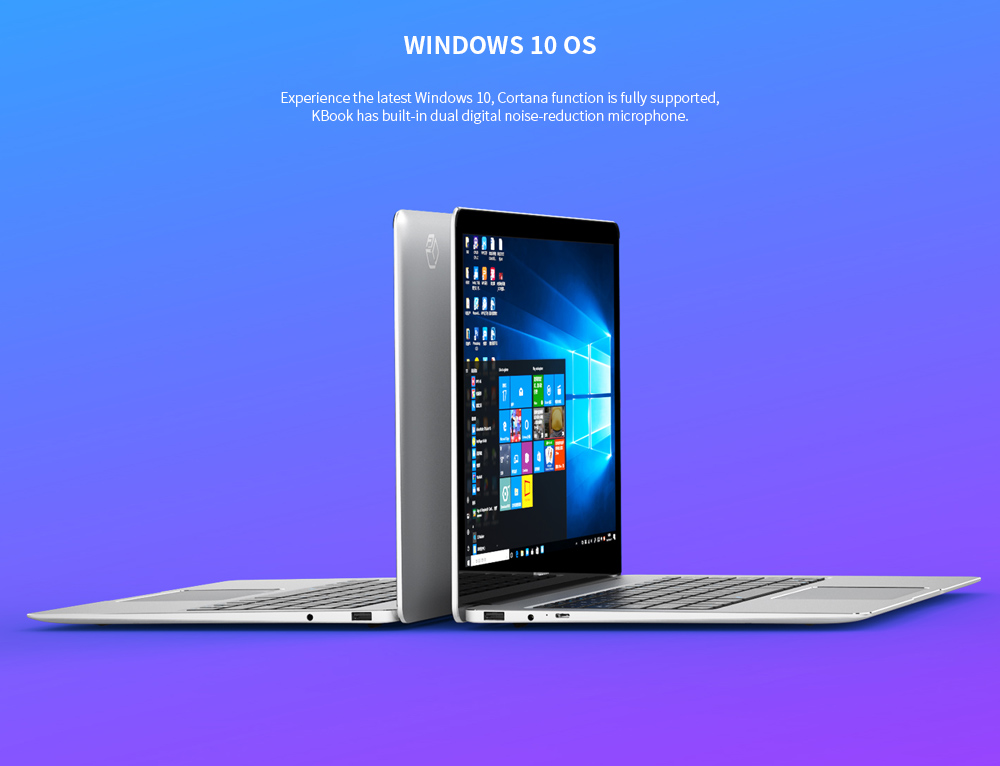 ALLDOCUBE Kbook 13.5 inch Laptop Windows 10 OS Intel M3 - 6Y30 Dual Core 8GB RAM 512GB SSD 1.0MP Camera- Silver