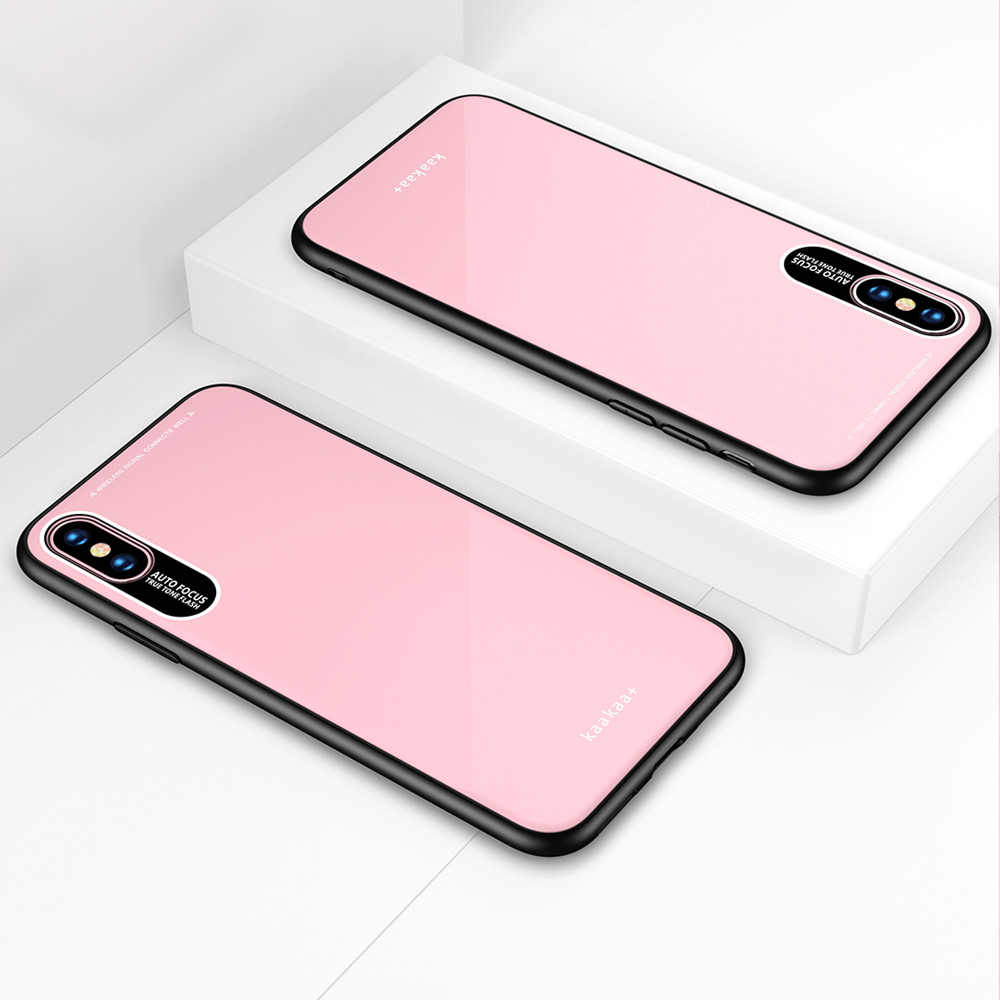 Luxury TPU Case Protector Phone Shell Cover for iPhone Xs Max- Black