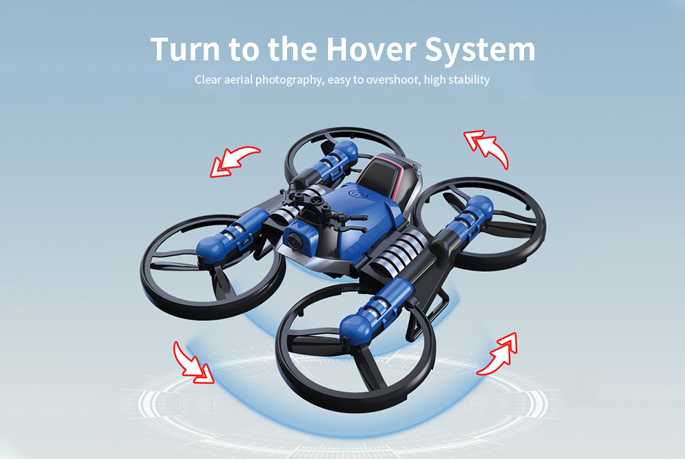 Image result for 2 in 1 Deformation Motorcycle Quadcopter