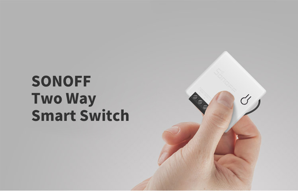 SONOFF APP Remote Control / Timer Schedule / Voice / Power-on Status / DIY Mode Two Way Smart Switch- White
