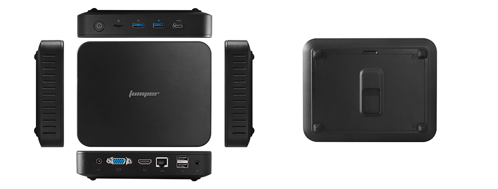 Jumper EZbox N4 Windows 10 Mini PC- Nero EU Spina