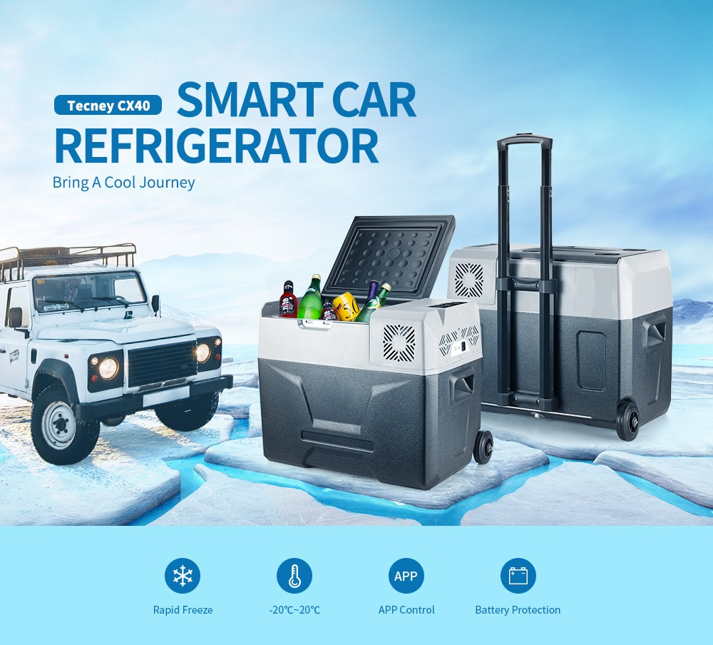 Tecney CX40 | Smart Car Refrigerator