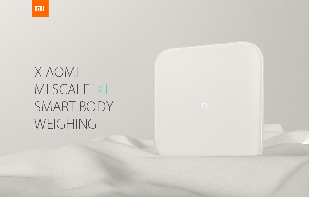 Xiaomi Mi Scale 2 Smart Control Bluetooth 5.0 Body Weighing - White