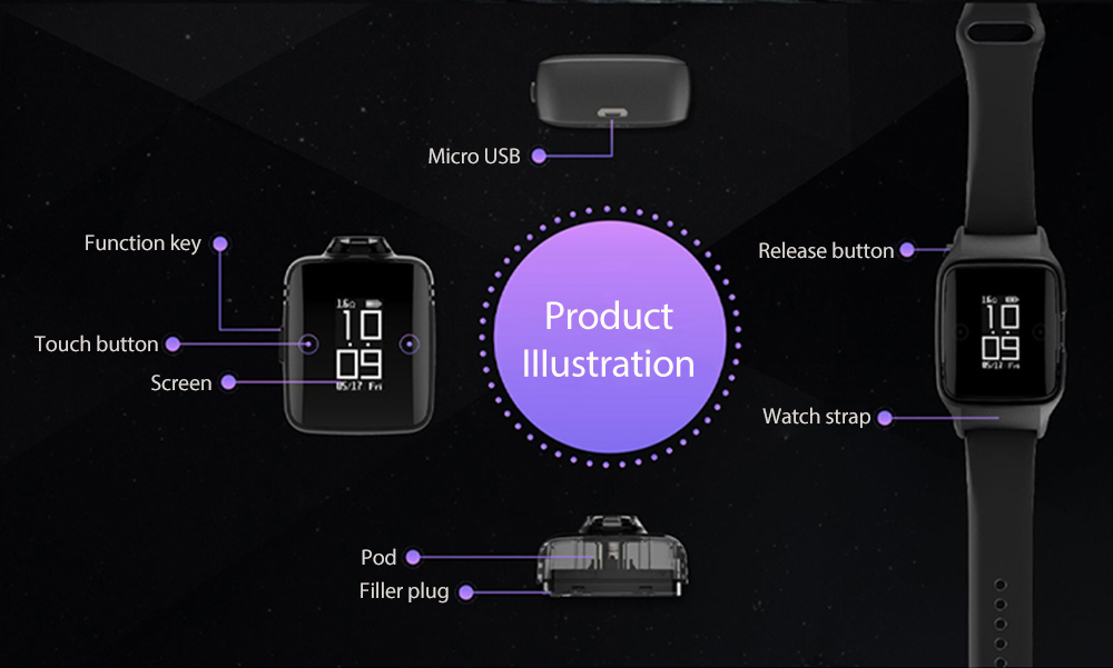 Uwell Amulet Pod System | All in one Starter Kit