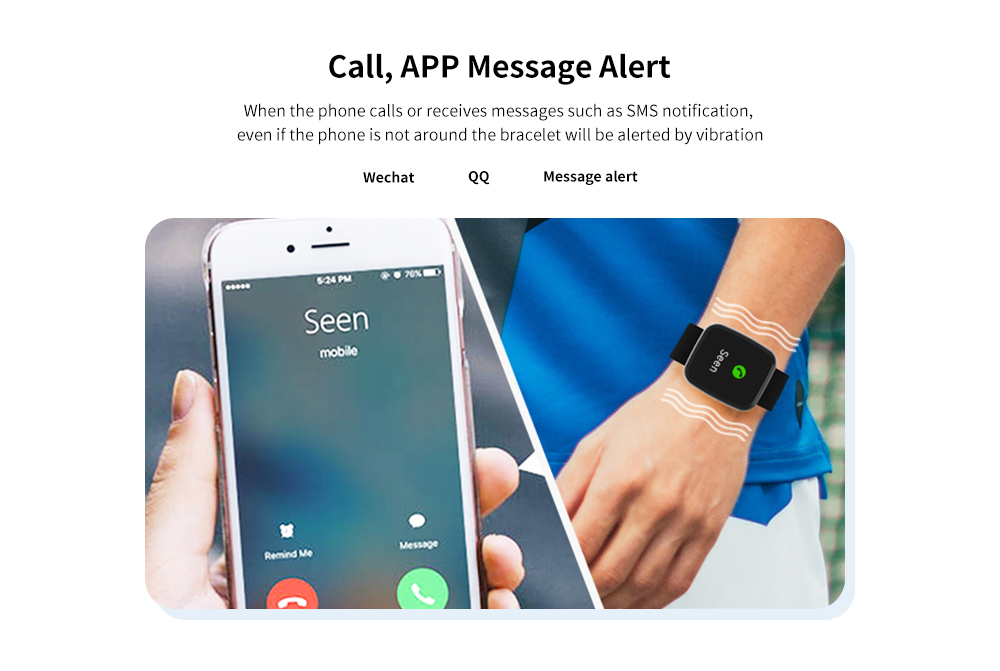 R32 Health Heart Rate Oximetry Sleep Monitoring Exercise Step IP67 Smart Bracelet- Silver