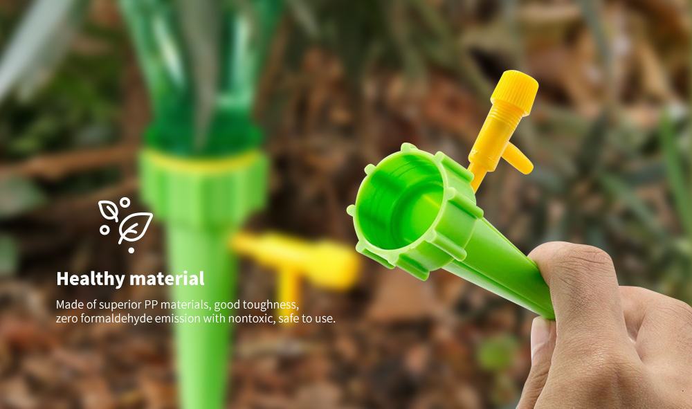 Adjustable Garden Drip Irrigation Watering Device 12pcs- Multi-A