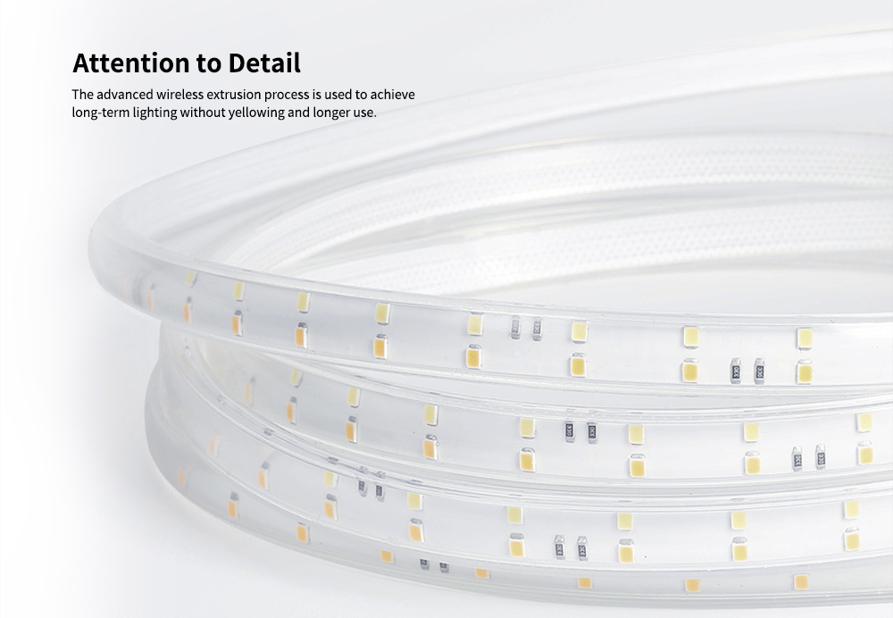 YEELIGHT 5m LED Smart Light Strip from Xiaomi youpin- White 5m lamp + drive ( required )