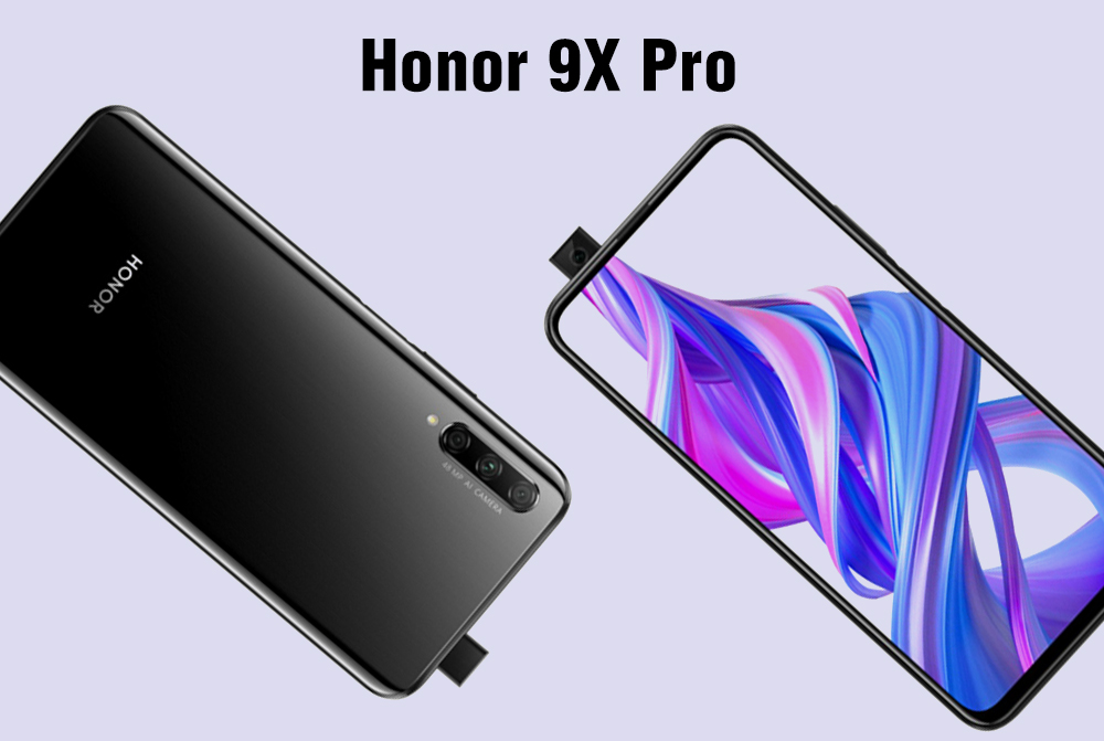 Honor 9X details