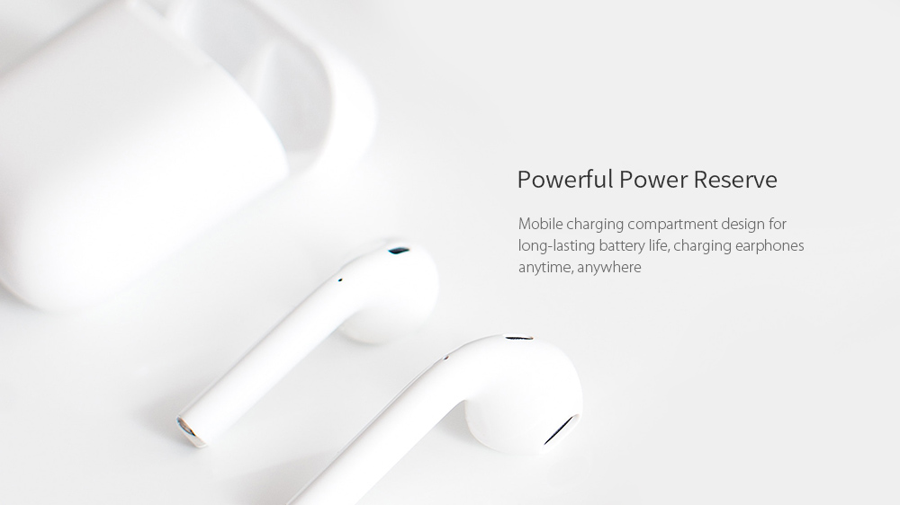 i15 Max Mini Earbuds Touch Wireless Bluetooth 5.0 Earphones- White