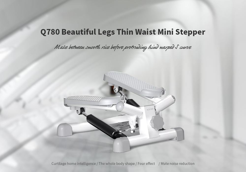 Q780 Whole Body Shape / Four Effect / Noise Reduction Beautiful Legs Thin Waist Mini Stepper from  youpin - White