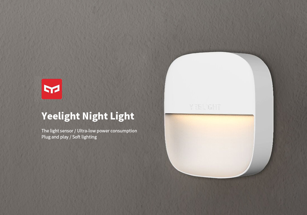 Yeelight Sensor Recognition / Ultra-low Power Consumption Square Night Light ( Xiaomi Ecosystem Product )- White