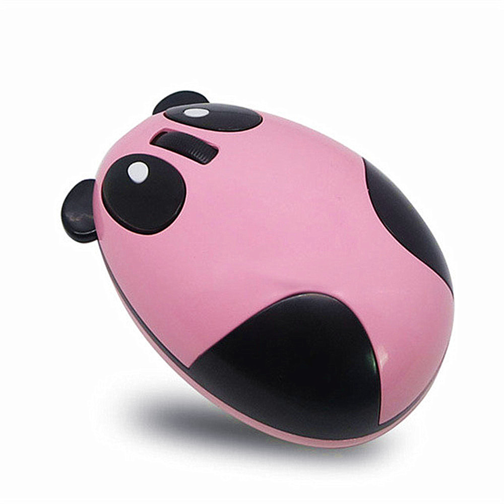 Cartoon Panda Wireless Mute Charging Mouse