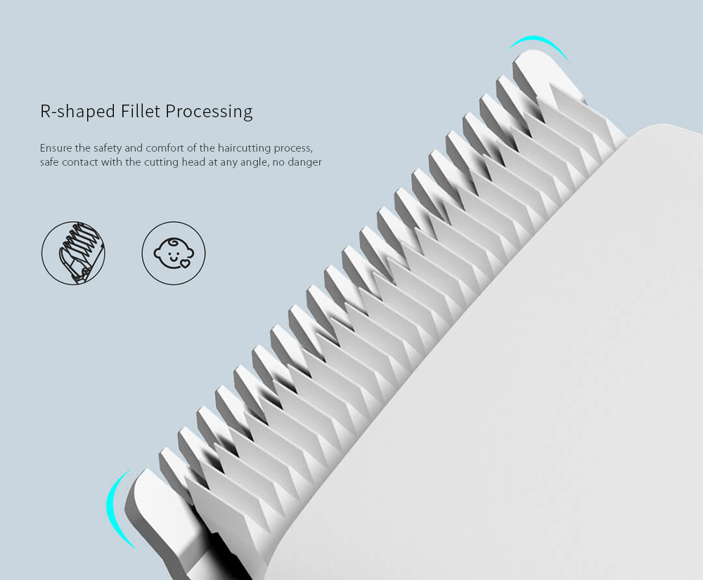 ENCHEN USB Fast Charging Electric Hair Clipper Two Speed ​​Ceramic Cutter from Xiaomi youpin- White
