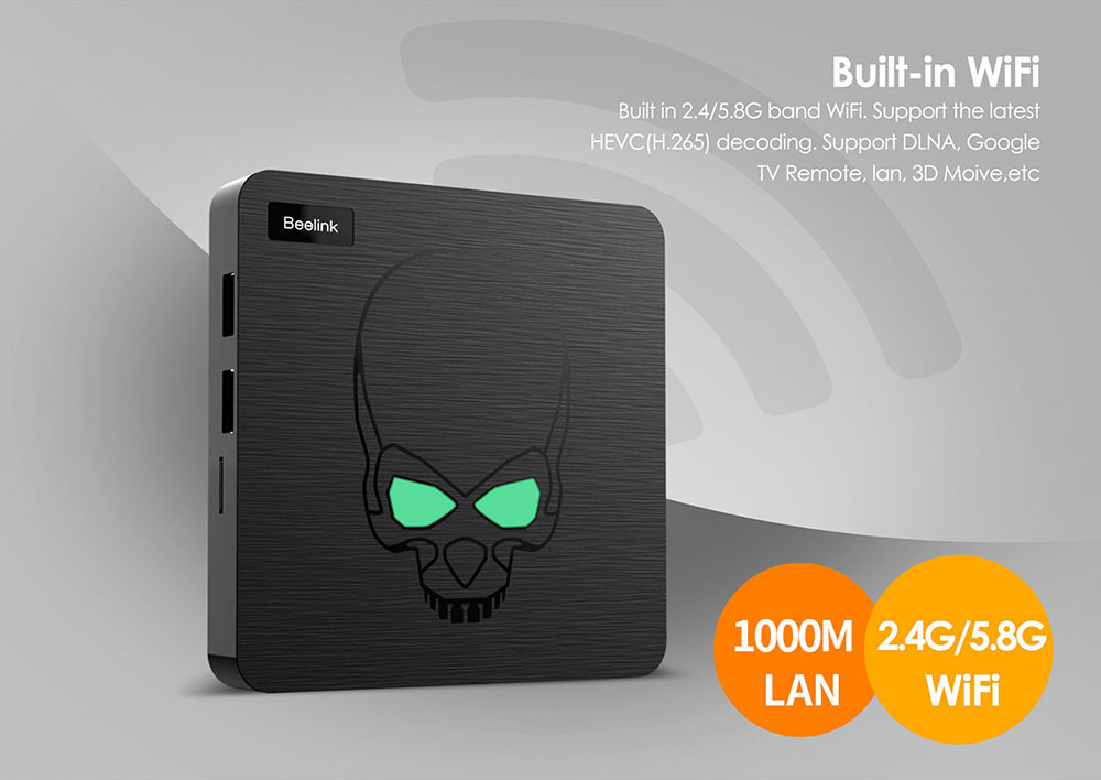 Beelink GT - King Most Power TV Box with 4GB LPDDR4 + 64GB