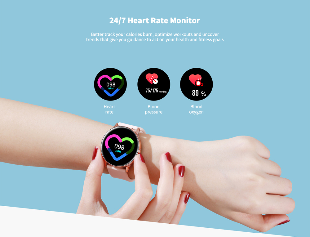 NO.1 DT88 7 Days Standby / Heart Rate Monitor / Life Assistant / Color Screen IP68 Waterproof Smart Watch- Black Silicone belt