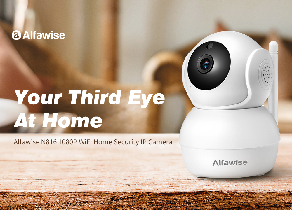 Alfawise N816 Smart Home Security 1080P WiFi IP Camera