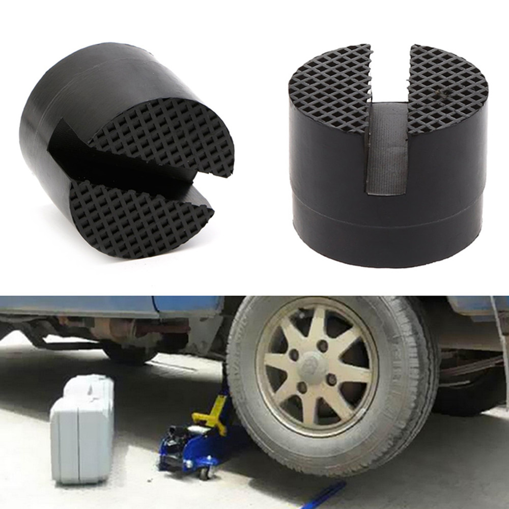 Vehicle Maintenance and Repair Rubber Pad Frame Protector Disk Pad Accessories- Black