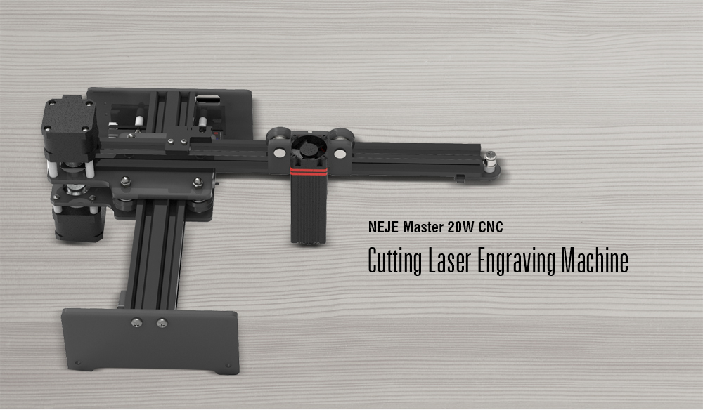 NEJE Master 20W CNC Cutting Laser Engraving Machine