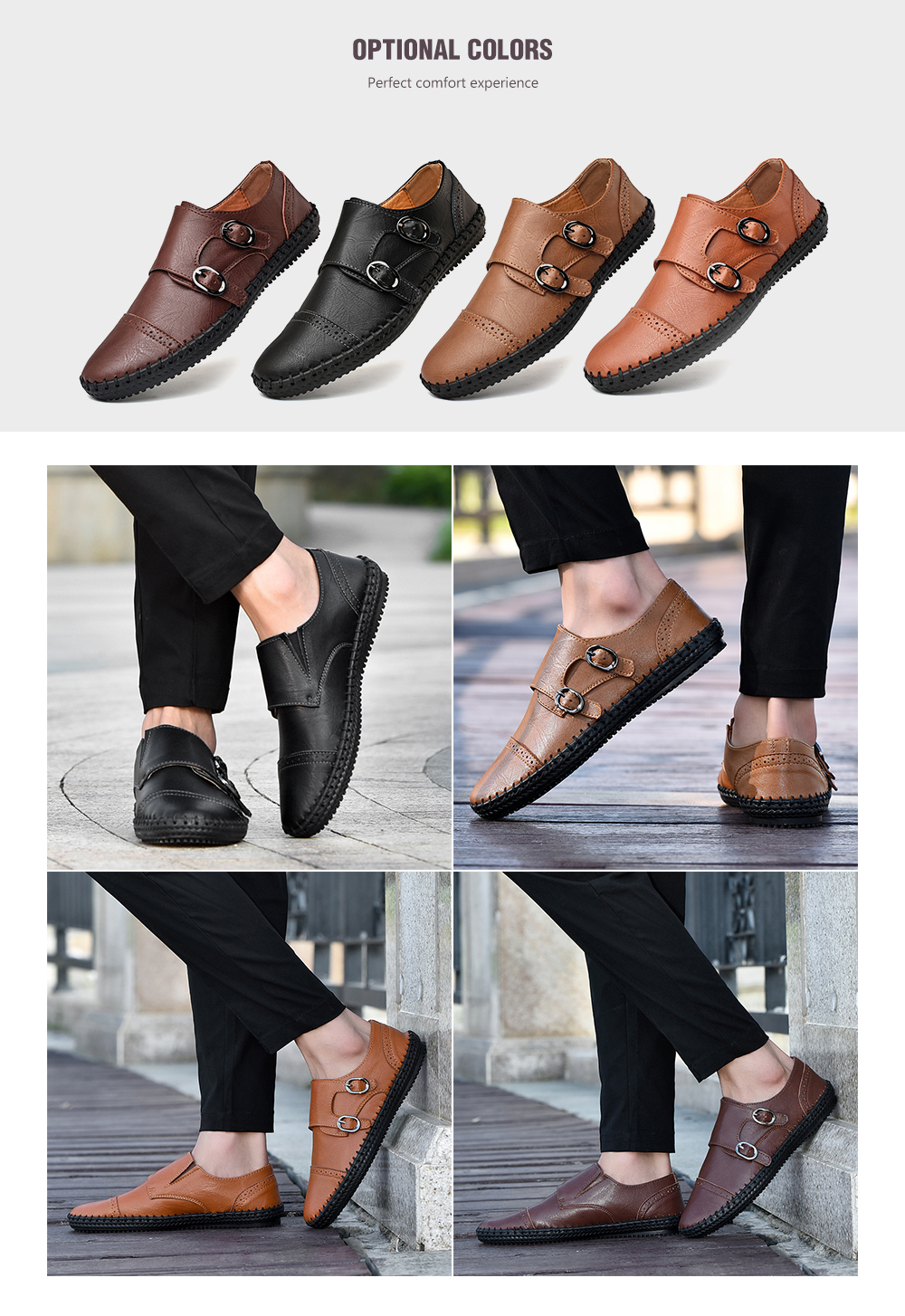 MXL Mens Business Oxford Casual Comfortable Soft Lightweight Simple Formal Shoes Dress Shoes