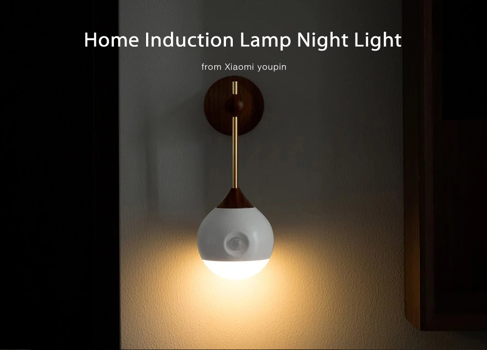 Home Induction Lamp Night Light from Xiaomi youpin- White