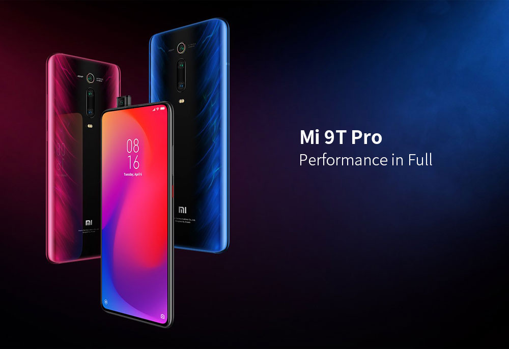 Xiaomi Mi 9T Pro 4G Phablet 6.39 inch MIUI 10 Snapdragon 855 Octa Core 2.84GHz + 2.42GHz + 1.80GHz 6GB RAM 64GB ROM 48.0MP + 13.0MP + 8.0MP Rear Camera 4000mAh Battery- Black