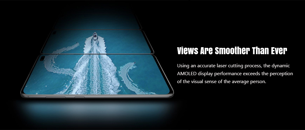 Samsung Galaxy S10+ 4G Phablet 6.4 inch Android 9.0 Snapdragon 855 2.8GHz + 2.4GHz + 1.7GHz 8GB RAM 128GB ROM 12.0MP + 12.0MP + 16.0MP Rear Camera 4100mAh Battery- Silver