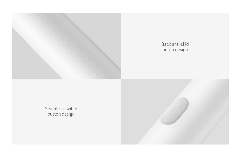 Xiaomi Mijia T300 Rechargeable Highly Efficient Powerful Clean Teeth Sonic Electric Toothbrush - White