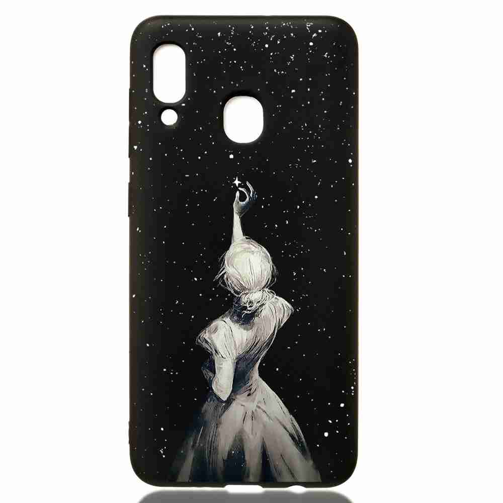 TPU Painted Multiple Pattern Phone Case for Samsung Galaxy A30/A20- Multi-H