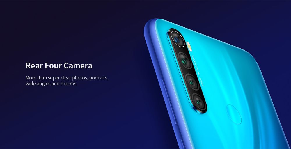 Xiaomi Redmi Note8 Global Version 4+64GB Neptune Blue EU- Blue 4+64GB