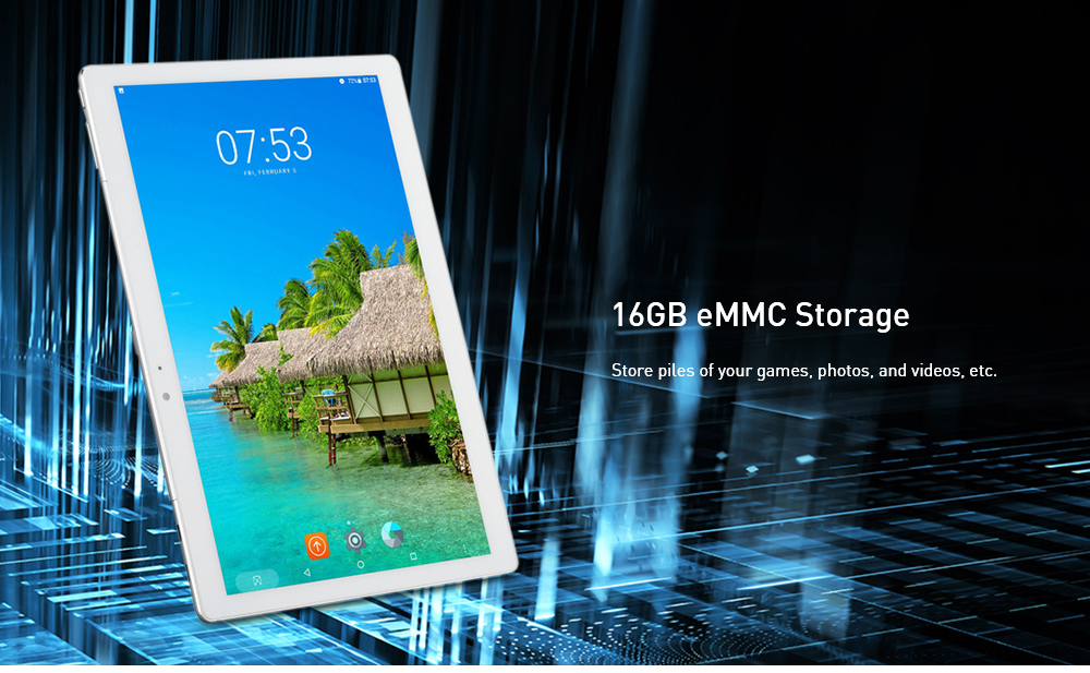 MT11 10,1 pollici Tablet PC Android 6.0- Oro