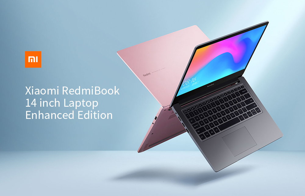 Xiaomi RedmiBook 14 inch Notebook Windows 10 OS / Intel Core i5-10210U 4.2GHz CPU / 8GB DDR4 RAM + 512GB SSD Laptop Enhanced Edition- Silver