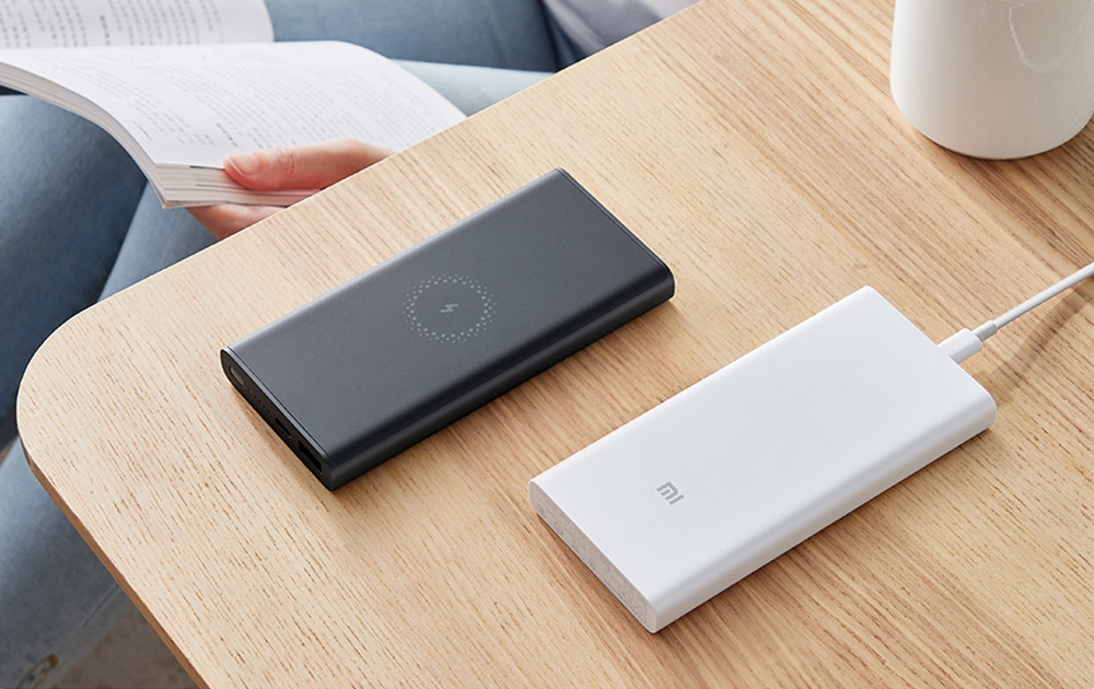 Xiaomi WPB15ZM Wireless Power Bank 10000mAh 10W Output Two-way Quick Charge Youth Version- White