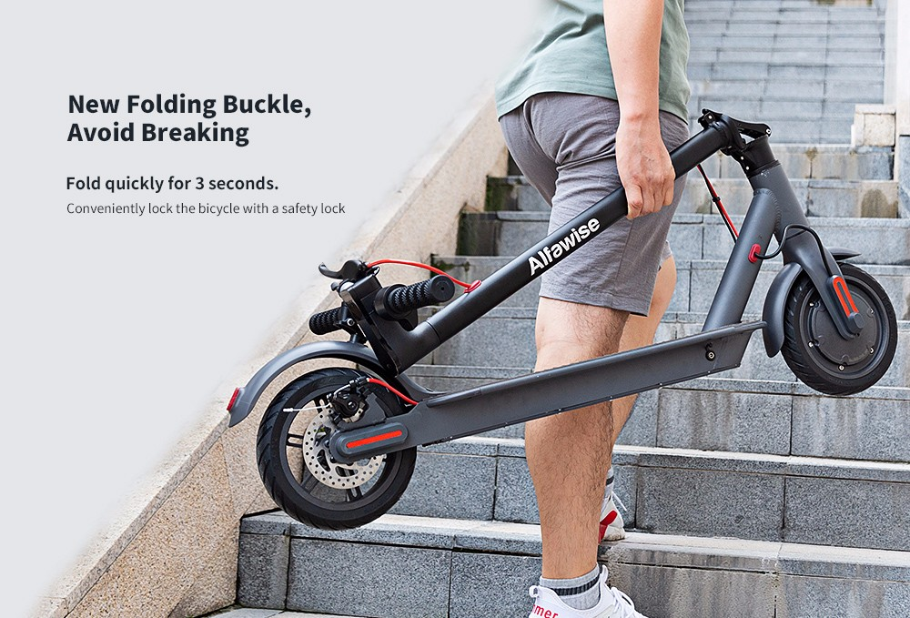 Alfawise M2 Folding Electric Scooter- Black 350W