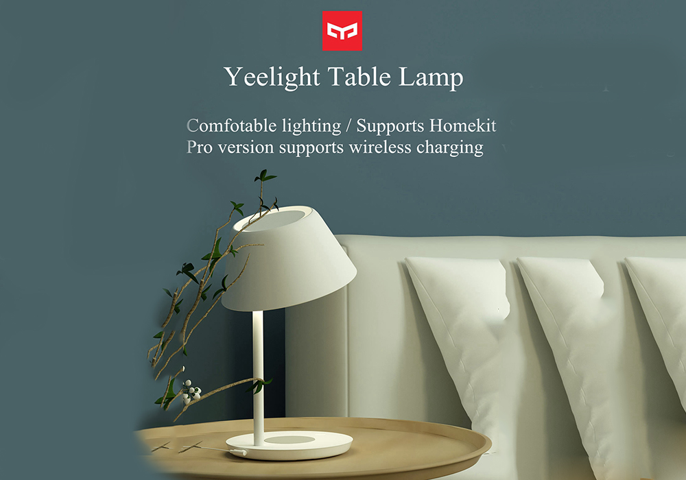 Yeelight YLCT03YL 10W LED Table Lamp Pro  - White with QI charge