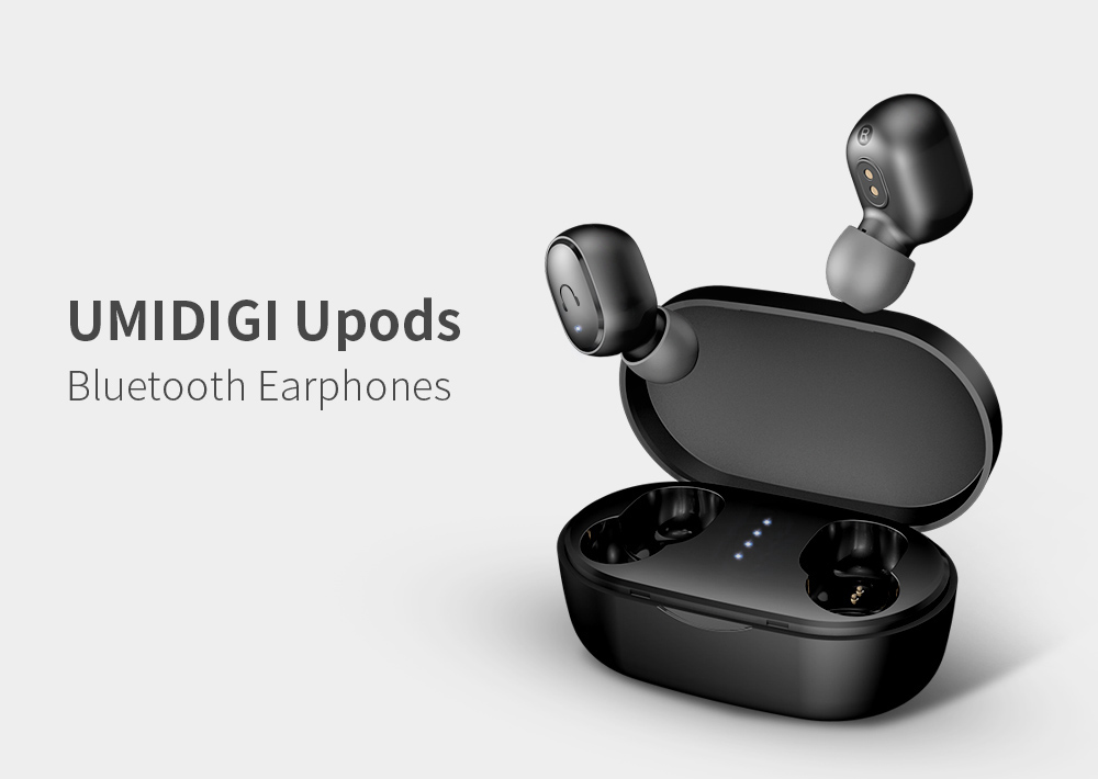 UMIDIGI Upods Binaural Bluetooth 5.0 Earphones - Black