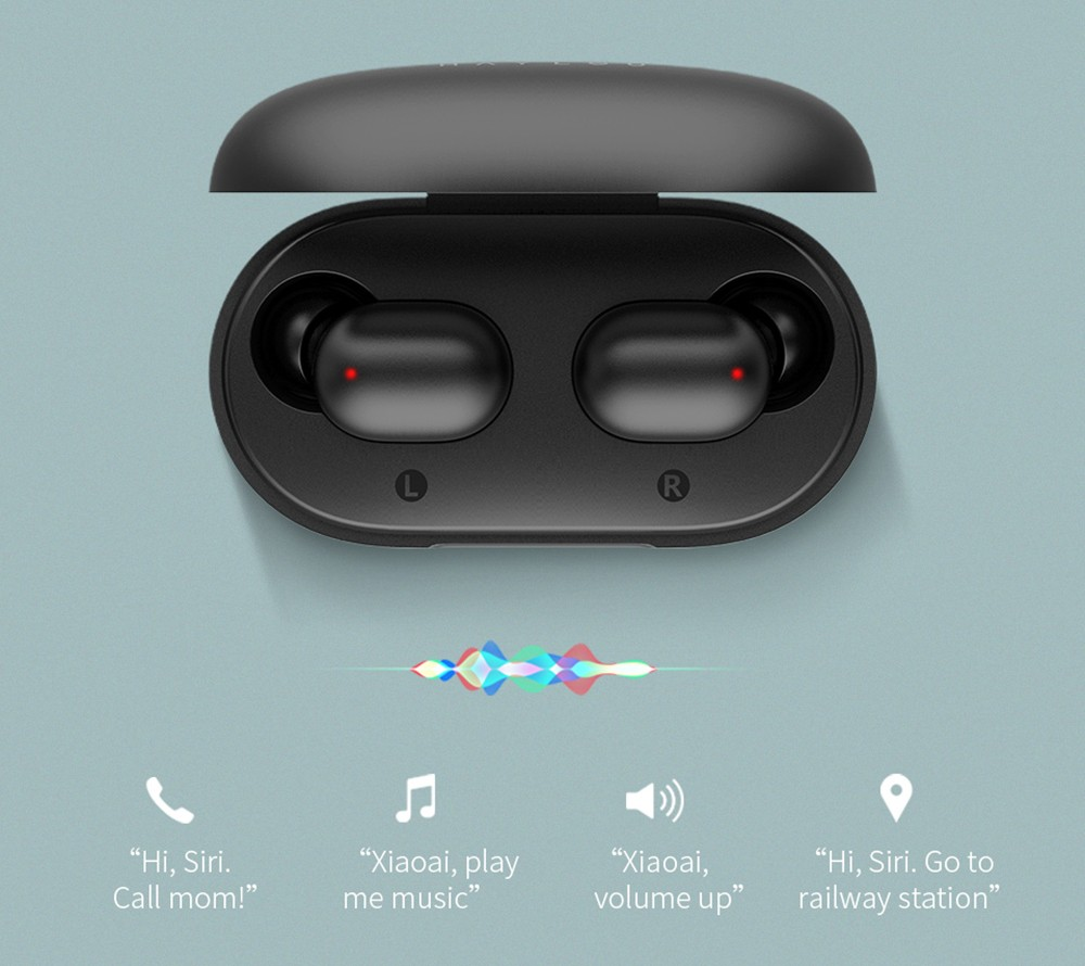 Haylou GT1 Pro True Wireless Earphones IPX5 Waterproof Earbuds- Black