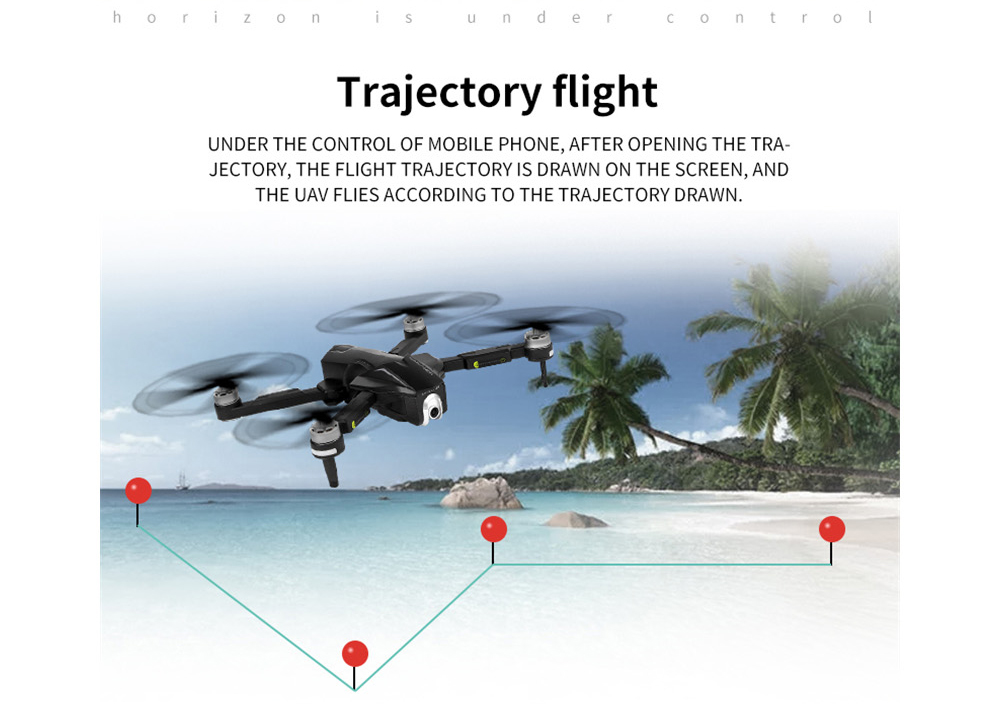 XMR/C M8 Brushless Foldable RC Drone Quadcopter RTF 5G WiFi FPV GPS with 4K Ultra HD Camera 30 Mins Flight Time- Black One Battery with color box