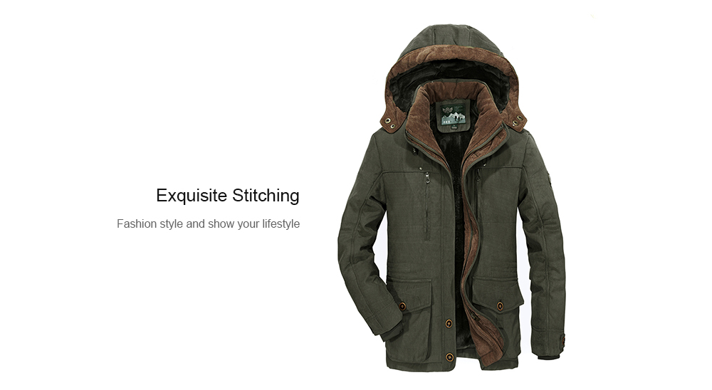 Lifestyler Fashion Autumn Winter Hooded Butterfly Coat Casual Zipper Cloak Jacket Button Thick Warm Clothes