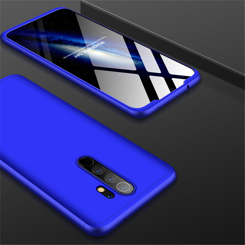 Full Protective Phone Case for Xiaomi Redmi Note 8 Pro- Red