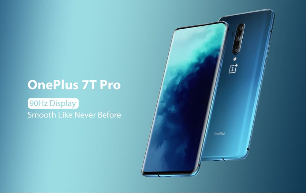 OnePlus 7T Pro 4G Phablet Internationale versie - Blauwe internationale versie