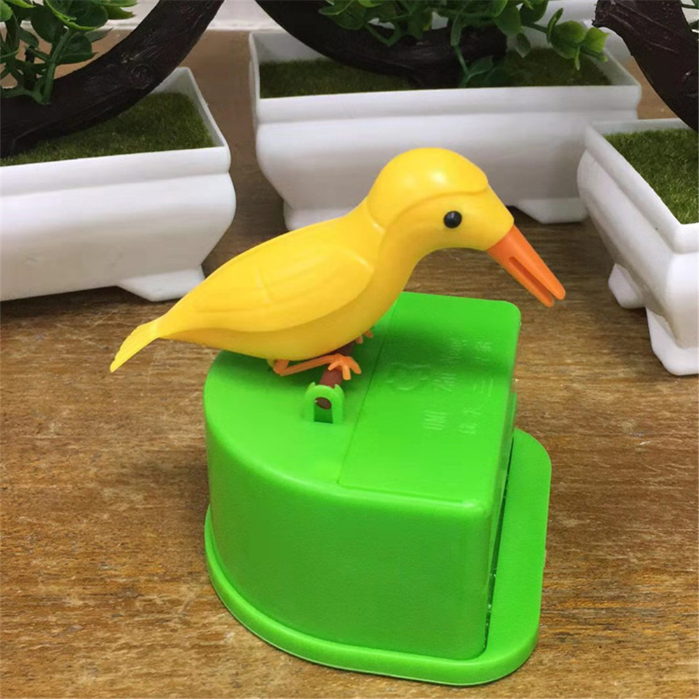 Toothpick Hummingbird Toothpick Dispenser Automatic Bird Toothpick Box- Multi-F