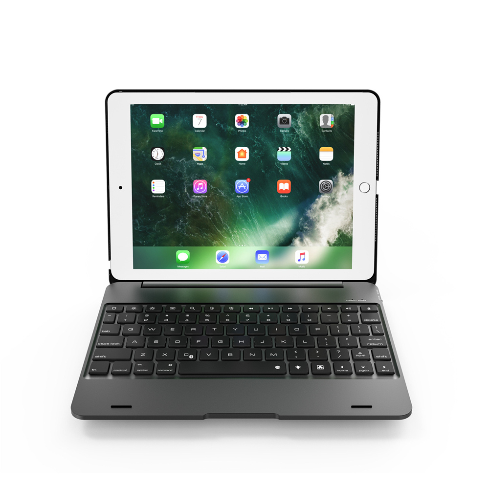 Tastiera Bluetooth Wireless Esterna per 9,7 pollici IPad Pro- Oro Rosa
