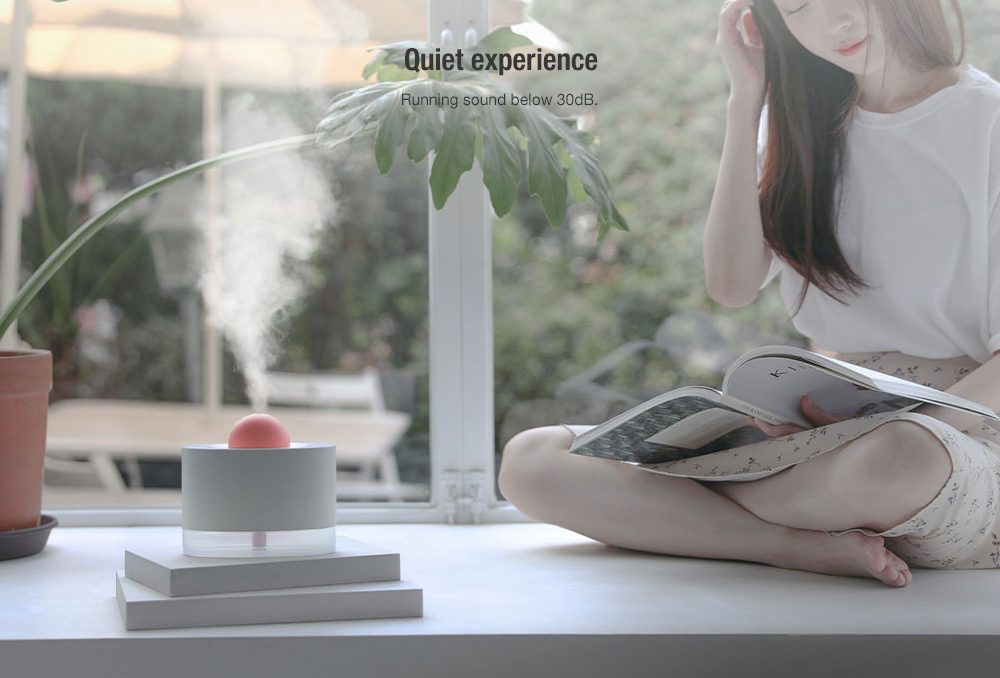 SOLOVE H5 Desktop Humidifier from Xiaomi youpin- Black USB Port