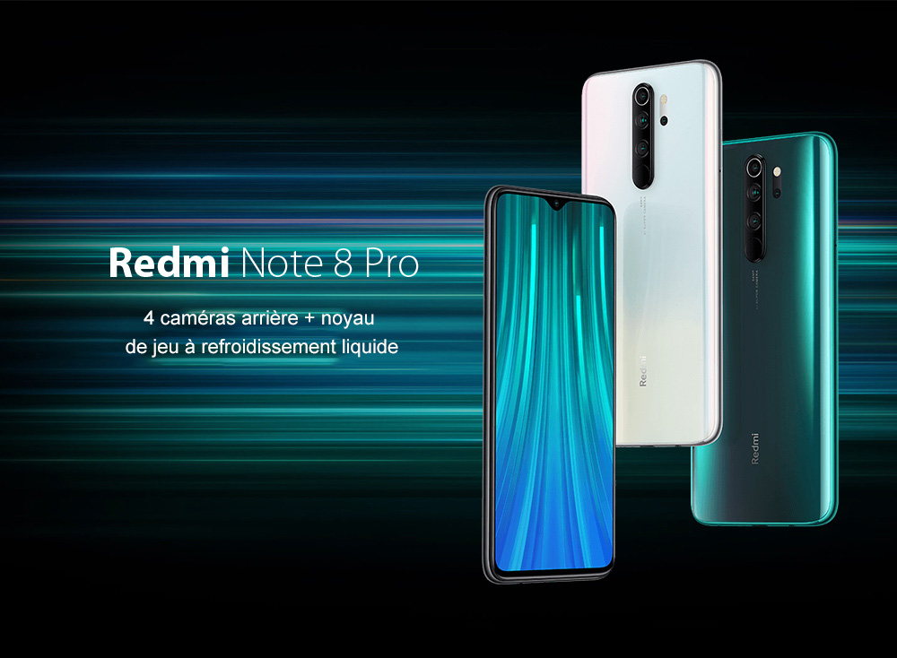 Xiaomi Redmi Note 8 Pro Global Version 6+128GB Forest Green EU